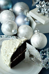 (hd connelly) Tags: christmas stilllife food dessert hdconnelly interestingness explore chocolatecake devilsfood