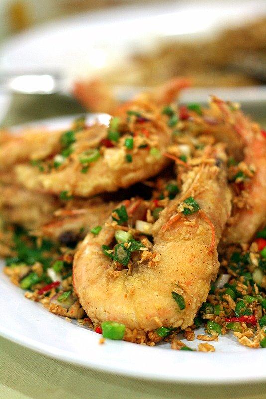 salt baked prawns
