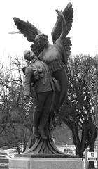 Winged Angel (mrchristian) Tags: memorial war winnipeg cpr