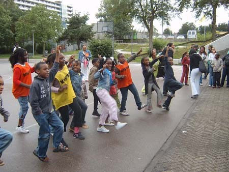 dansende kids