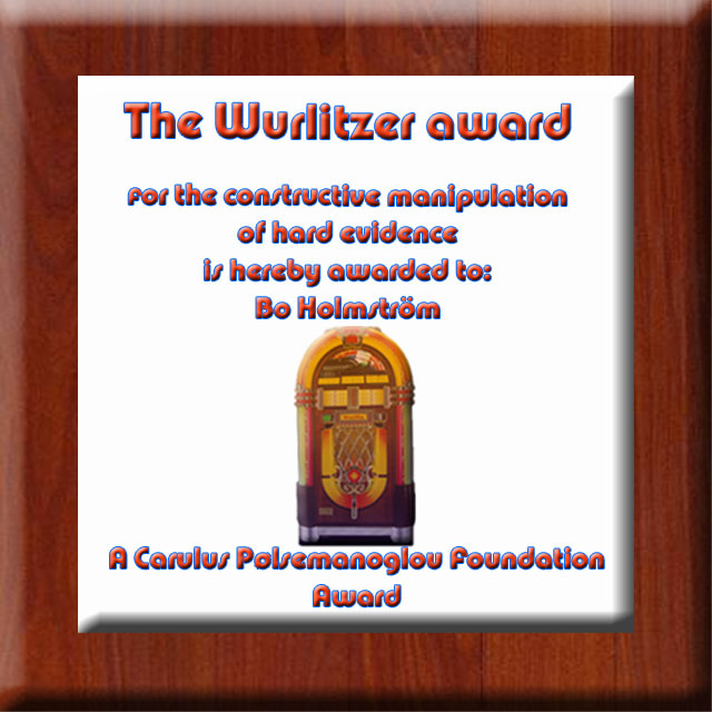 The Wurlitzer award