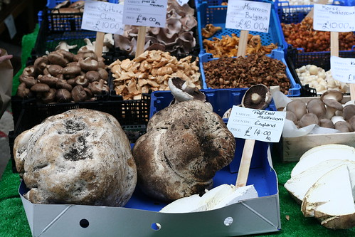 puffballs for sale at Borough Market