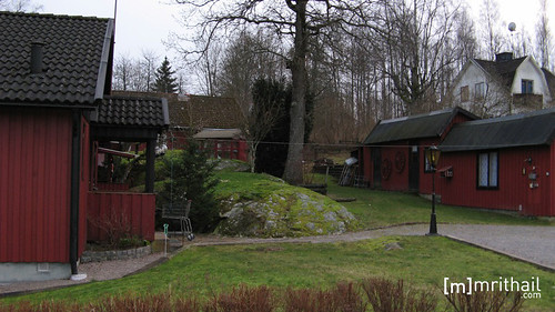 Holmsjö houses