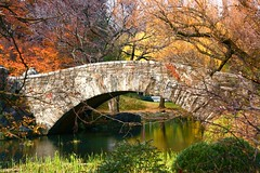 Bridge (Ken Yuel) Tags: bridge autumn trees newyork fall water stone centralpark oneofakind peaceful walkway serenity overhead naturesfinest goldenmix golddragon abigfave anawesomeshot diamondclassphotographer theunforgettablepictures wonderfulworldmix theperfectphotographer