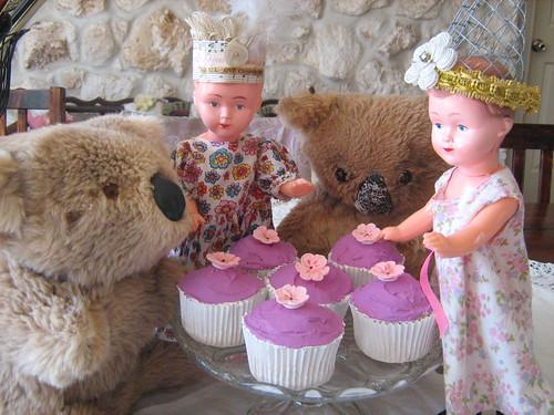 lilac fairy cake's-