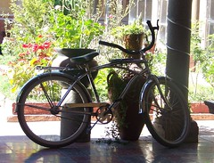 Bici de pueblo =) ( Moni de origami...) Tags: sayula fototour