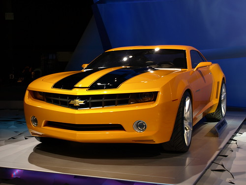 Chevrolet Camaro Bumblebee Car Picture