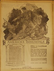Comeback May 7, 1919, America's Immortals