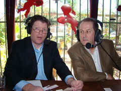 "Kevin Price and Calvin Brown, Houston Business Show Live Broadcast at ""El Tiempo"" Restaurant (StealthMarketer) Tags: foxnews jennifercolon universityofhouston kevinprice mikealexander jimoneill andyvaladez stevelevine houstonneighborhoods marketingdynamics bauercollegeofbusiness houstonrealestatetoday carolebaker houstonbusinessshow houstonbusiness businessradio robbieadair donaldleonard virginiagrace joestiles johodell"