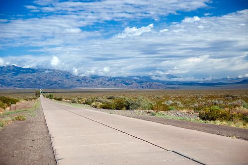 The Road North of Mendoza City to Villavicencio