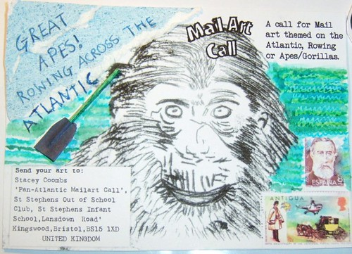Great Apes! Postcard 1