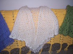Snowflake Shawl (katalina_knits) Tags: crochet badge shawl finishedobject