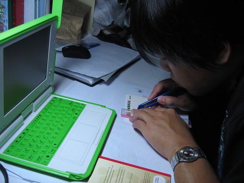 XO 中文鍵盤:努力地割