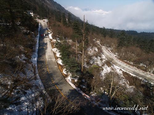 Snowed at Mt Emei Road