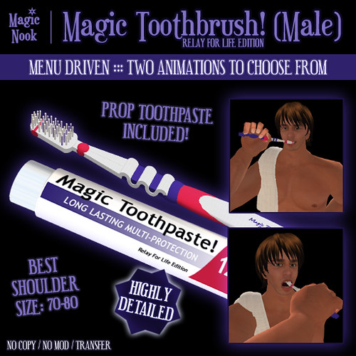 * Magic Nook * Magic Toothbrush (Male) (RFL Edition)