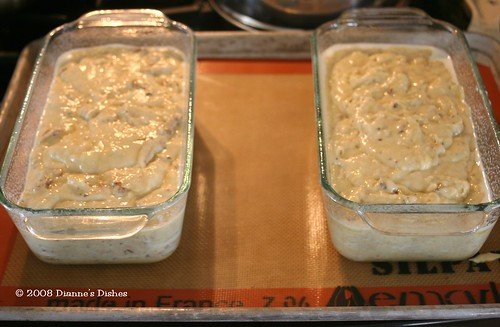 Banana Bread: Ready for the Oven