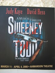 We spent Easter Sunday seeing Sweeney Todd. (03/23/2008)