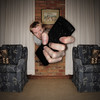 the remote (jæms) Tags: selfportrait home me square tv jump symmetry explore remote remoteflash remoteshutter