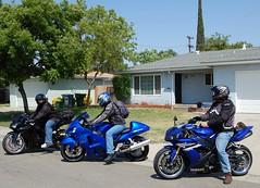 DSC_0186.jpg (EleqTrizi'T) Tags: ninja motorcycles 2006 yamaha r1 sportbike suzuki zx6r hayabusa 636