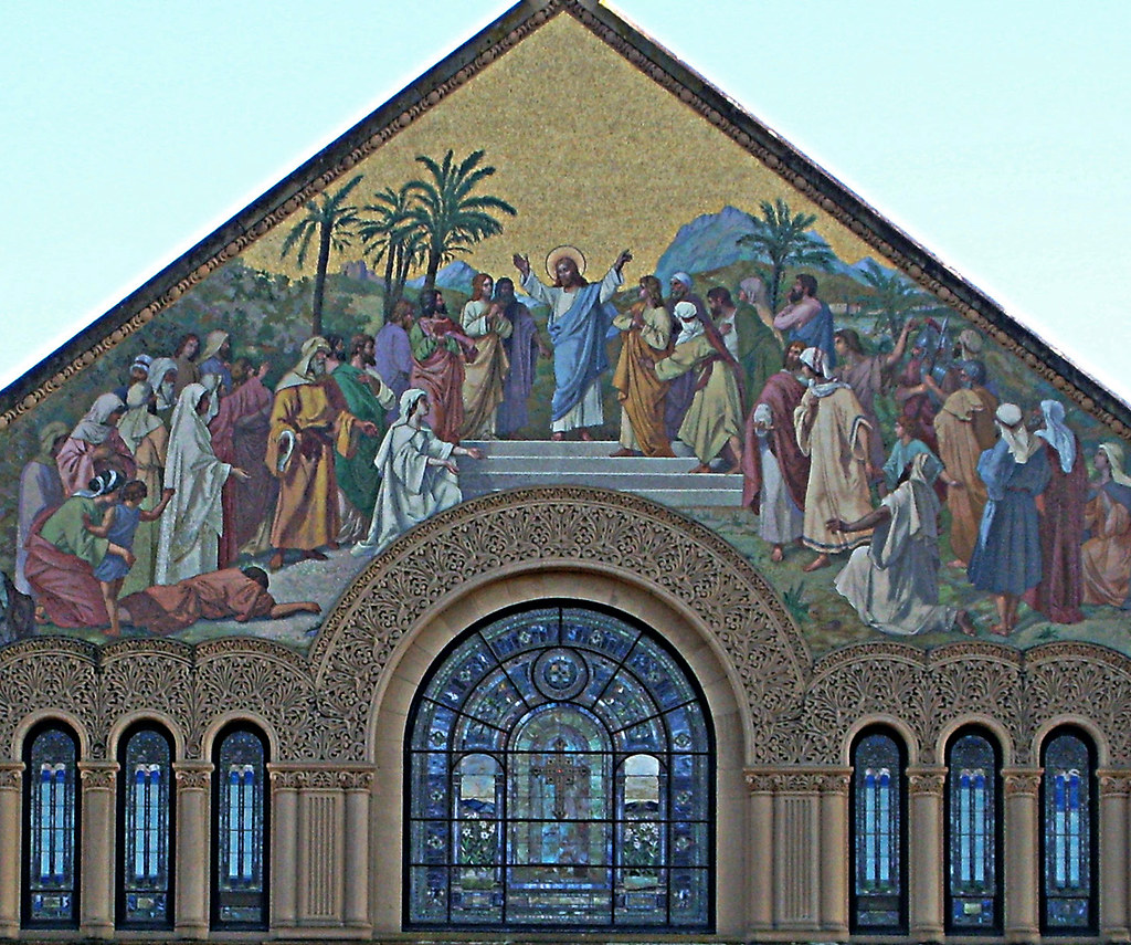 Stanford Memorial Church Mural (by Jill Clardy)