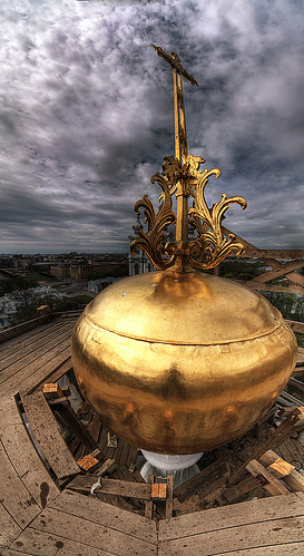 Smolny cathedral's tower