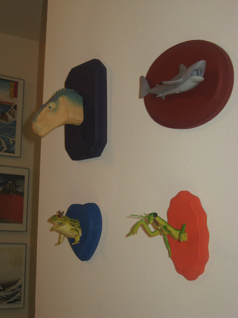 Wall Mounted Toys: Done and Mounted!