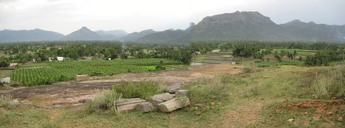 Padavdu aerial view from Kailasa Parai 1