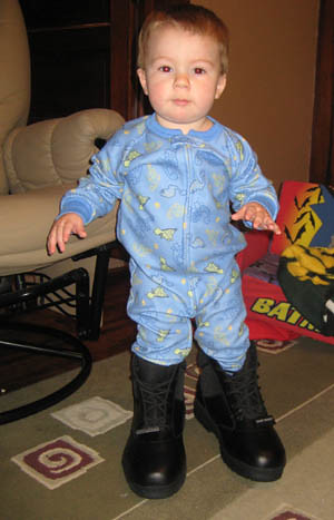 Will in boots