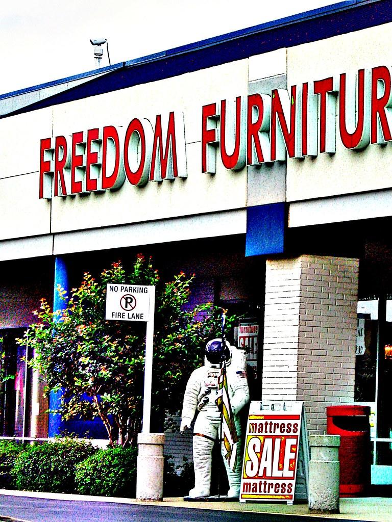 it's freedom furniture...