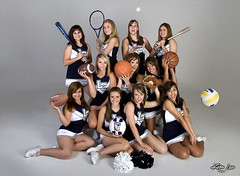 La Cueva Cheer 2008 (griegophoto) Tags: portrait sports canon studio cheerleaders group cheer whitelightning kimjewsportscom bestsportsphotographyinnewmexico