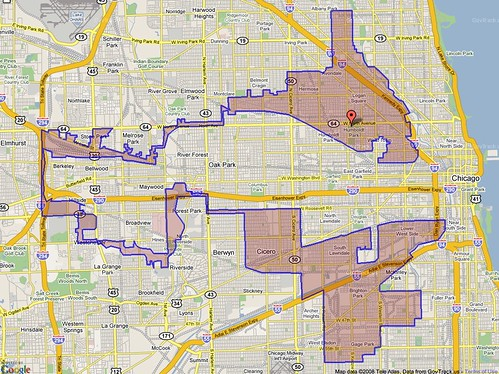 From flickr.com: illinois-4th-district-map-gerr ymandering {MID-141109}