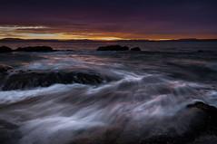 Seven mile point sunrise (Rich Morrison) Tags: seven mile beach point frederick henry bay hobart tasmania australia seascape sunrise landscape nikon d5000