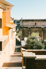 An old view (lorenzoviolone) Tags: arc arch finepix forum fuji400h fujix100s fujifilm fujifilmx100s imperialforum romanforum vsco vscofilm x100s clearsky landmark mirrorless sightseeing sky streetphoto streetphotocolor streetphotography touristicattraction walk:rome=jan42017 roma lazio italy