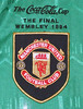 Manchester United 1994 League Cup Final badge