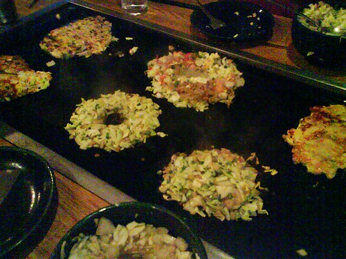 Okonomiyaki at Sakura-tei