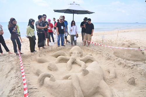 HV cherating sandsculpting