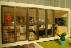The sliding windows (pubdoll) Tags: 116 dollhouse dollshouse lundby 116scale modernminiatures 34scale pollylineshouse