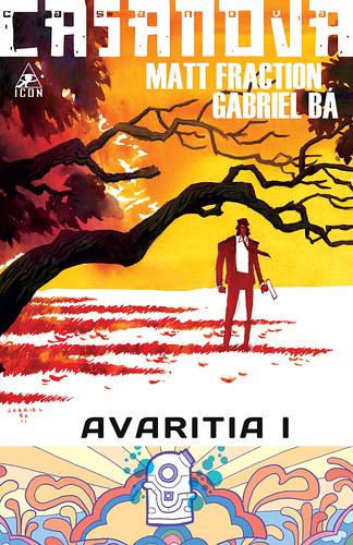 CASANOVA - AVARITIA I cover