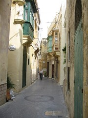 Lane to Basilica of St. George