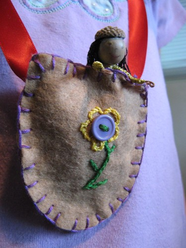 Doll Purse Necklace