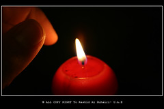 ([.. AlAmEeEr ..]) Tags: digital canon eos candles candle  a  400d alameeer