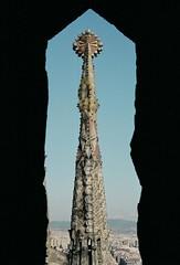sagrada familia - window framed (DaLish) Tags: barcelona window spain frame sagradafamilia superhearts lpwindows
