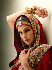 (Fayyaz Ahmed) Tags: pakistan red portrait topf25 girl beauty fashion bride topf50 nikon topf75 maroon bridal karachi topf100 aplusphoto