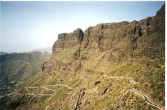 Tenerife: The impressive road down to the village of Masca (Bhakti -Amsterdam) Tags: espaa nature spain tenerife canaryislands