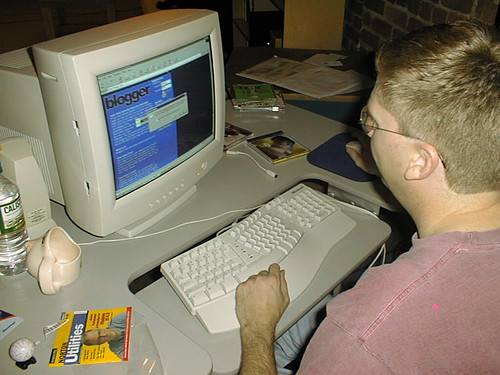 This is what computers looked like back when we first made Blogger