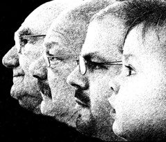 Generations (JAL Imager) Tags: men sketch blackwhite illinois profile generations rockford utatafeature utata:project=justblack jalimager