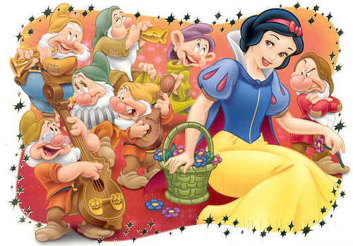 Snow White and the seven dwarfs is a Disney movie