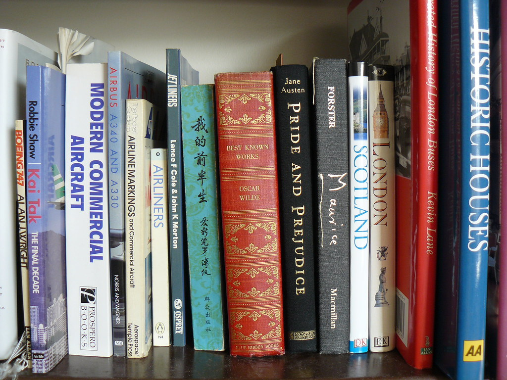 My Little Library, Maurice's Pride and Prejudice