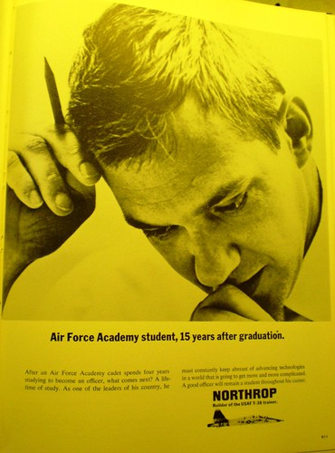 Advertisement in the 1963 USAFA annual, Polaris