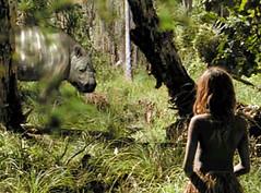 Diprotodon and girl